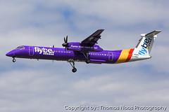 Flybe, G-PRPI (Thomas Naas Photography) Tags: england grossbritannien great britain london lhr egll flughafen airport flugzeug aircraft airplane aviatik aviation bombardier dash 8400 flybe