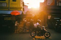 (Hem.Odd) Tags: malaysia kualalumpur goldenhour motorbike motorcycle shop asia asian agfavista400 olympusxa3 light