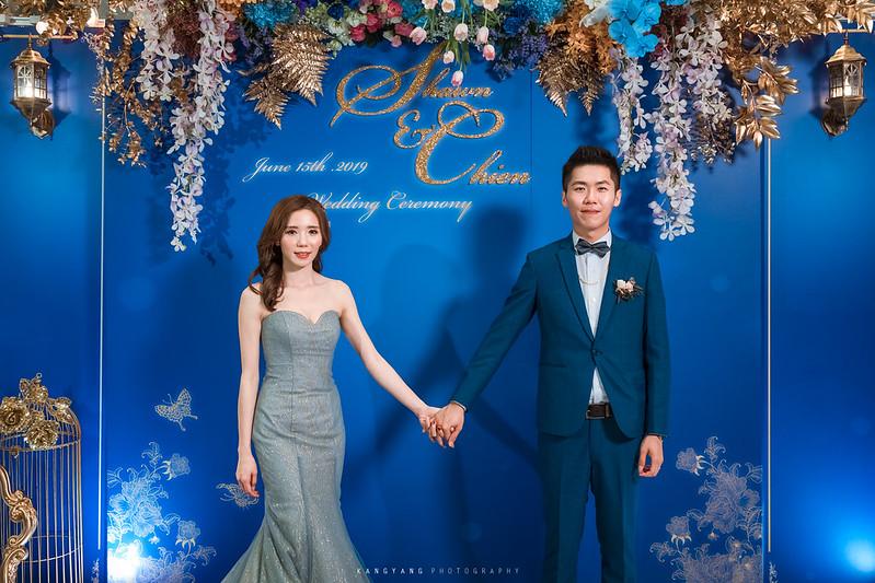 [桃園婚攝] Shawn&Chien 早宜午宴 婚禮紀錄 @ 八德彭園會館 Ballroom F廳| #婚攝楊康