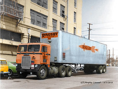 White Freightliner Ringsby Colorized (gdmey) Tags: white whitemotortruck freightliner colorized fallenflag ringsby