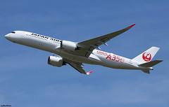Japan Airlines Airbus A350-941 F-WZHF (JA01XJ) (RuWe71) Tags: japanairlinesco japanairlines jljal jal japanair japan nippon tokyo airbus airbusa350 airbusa350xwb a350 a350xwb a359 a350900 a350941 airbusa350900xwb airbusa350900 airbusa350941 msn321 ja01xj fwzhf widebody twinjet takeoff winglets sunshine toulouseblagnac toulouseblagnacairport toulouse blagnac aéroportdetoulouse aéroporttoulouseblagnac tls lfbo