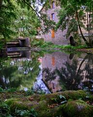 PWK-2019-Aug-09-Ardouais Mill-DSCF3929-Flickr- (WAHLBRINKPhoto) Tags: architecture watermill building mill geography river lesemnon dam ardouaismill ardouais illeetvilaine35 france