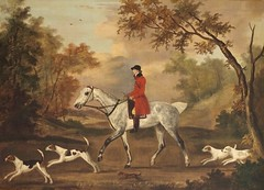 P70405962 (simonrwilkinson) Tags: antonyhouse nationaltrust antony cornwall painting sartorius hounds horse