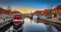 Frederiksholm kanal, Copenhagen (ibjfoto) Tags: city cityscape copenhagen danmark denmark frederiksholmkanal ibjensen ibjfoto københavn urban urbanlandscapes canal kanal