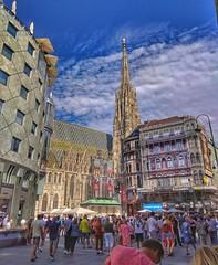 Vienna Wien (Oliver Kuehne) Tags: stephansdom vienna wien austria österreich street