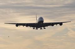 'BA45B' (BA0212) BOS-LHR (A380spotter) Tags: approach landing arrival finals shortfinals airbus a380 800 800igw msn0148 gxlee internationalconsolidatedairlinesgroupsa iag britishairways baw ba ba45b ba0212 boslhr runway27r 27r london heathrow egll lhr