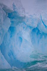 Antarctic Splash (LauriNovakPhotography) Tags: southernocean blue ocean antarcticpeninsula water ice splash antarctica oneocean sea iceberg snow tamron100400 withmytamron
