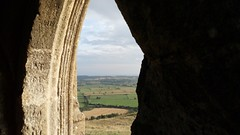 Through the tower (Wordshore) Tags: glastonbury somerset westcountry tor glastonburytor
