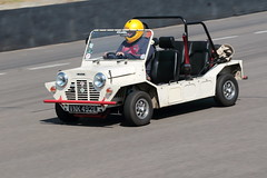 London and Surrey Mini Owners Club Track Day Goodwood July 2019 (davidseall) Tags: london surrey mini owners club track day goodwood july 2019 lsmoc trackday 1965 morris moke vnk492e vnk 492e west sussex uk motor circuit