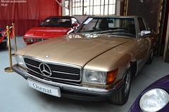Mercedes 500 SL Hardtop 1984 (Monde-Auto Passion Photos) Tags: voiture vehicule auto automobile mercedes 500sl hardtop ancienne classique rare rareté collection sportive france fontainebleau osenat vente enchère