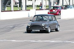London and Surrey Mini Owners Club Track Day Goodwood July 2019 (davidseall) Tags: london surrey mini owners club track day goodwood july 2019 1991 rover cooper classic old shape style original lsmoc trackday m182glv m182 glv motor circuit west sussex uk great british car