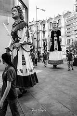 Gigantes (josé vargas.) Tags: españa castillayleón zamora calle street streetphotography gente people fiestaspopulares ricohgr3 blancoynegro bw blackandwhite