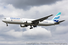 Icelandair (EuroAtlantic Airways), CS-TSV (Thomas Naas Photography) Tags: england grossbritannien great britain london lhr egll flughafen airport flugzeug aircraft airplane aviatik aviation boeing b763 b767 b767300 icelandair euroatlantic airways