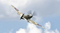 Supermarine Spitfire Mk.XVI (kamil_olszowy) Tags: supermarine spitfire mkxvi siaf lzsl fighter warbird