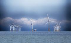 Welsh windfarm (Gill Stafford) Tags:
