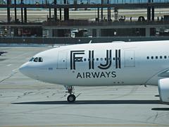 Fiji A330-243 DQ-FJT (kenjet) Tags: fj fiji fijiairways sf sfo ksfo sanfranciscointernationalairport 332 330 a330 airbus a330200 a330243 fjt dqfjt brown islandoftaveuni plane jet flugzeug aviation airline airliner