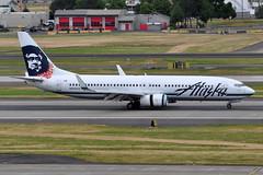 Alaska Airlines - Boeing 737-800 - N593AS - Portland International Airport (PDX) - June 3, 2015 5 309 RT CRP (TVL1970) Tags: nikon nikond90 d90 nikongp1 gp1 geotagged nikkor70300mmvr 70300mmvr aviation airplane aircraft airlines airliners portlandinternationalairport portlandinternational portlandairport portland pdx kpdx n593as alaskaairlines alaskaairgroup boeing boeing737 boeing737800 737 737ng b737 b737ng b738 737800 737800wl boeing737890 737890 737890wl aviationpartners winglets cfminternational cfmi cfm56 cfm567b26 thrustreverser thrustreversers