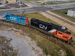 GTW 6224  IC 9564 | EMD GP38-2 | President's Island (M.J. Scanlon) Tags: business cnmemphissubdivision cargo commerce dji dti dti224 detroittoledoironton digital drone emd engine freight gmo gmo744 gp382 gtw6224 gulfmobileohio horsepower ic ic9564 icg icg9564 illinoiscentral illinoiscentralgulf landscape locomotive logistics mavic2 mavic2zoom memphis merchandise mojo move outdoor quadcopter rail railfan railfanning railroad railroader railway scanlon tennessee track train trains transport transportation ©mjscanlon ©mjscanlonphotography