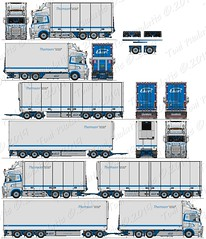 Scania R730 Sweden (puolatie95) Tags: scania volvo mercedesbenz kaupe ekeri ntm puolatie trucking transport vak närko oldschool truck drawing 2d freestyle drawings lastbil tekeningen actrans oy