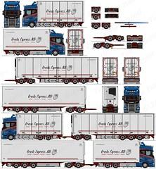 Scania R650 (puolatie95) Tags: scania volvo mercedesbenz kaupe ekeri ntm puolatie trucking transport vak närko oldschool truck drawing 2d freestyle drawings lastbil tekeningen actrans oy