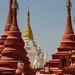 Red Stupas, Mindat Myanmar
