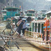 Loading Boats on Chindwin River Burma