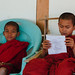 Young Monks Studying, Mindat Myanmar