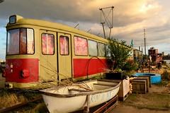 Vagón (sonialuna250) Tags: ámsterdam travel viaje nikon streetphoto callejera rojo train abandonado