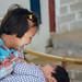 Sisters Tickling Each Other, Mindat Myanmar