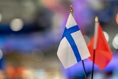 2019-02-19,ヘルシンキ・ヴァンター空港 (rapidliner) Tags: ヘルシンキ 空港 フィンランド 国旗 国際空港 ヘルシンキ・ヴァンター空港 免税店