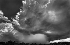 sunny, cloudy and rainy (DeZ - photolores) Tags: monochrome bw blackandwhite bnw sky clouds rain landscape hdr nikon nikond610 nikkor1424mmf28 dez