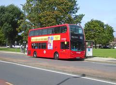 AL T321 - LK65EKZ - OSF - YORKSHIRE GREY ELTHAM HILL - SAT 10TH AUG 2019 (Bexleybus) Tags: arriva london adl dennis enviro 400 tfl route 160 t321 lk65ekz bus on diversion eltham green yorkshire grey roundabout hill
