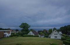 The view on a cloudy day (frankmh) Tags: landscape sky hittarp öresund skåne sweden denmark