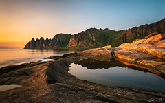 Tungeneset (epe3x) Tags: flickr lofoten norway norwegen senja sonnenuntergang tungeneset epe3x sunset troms