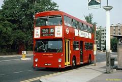 JGF301K London Buses DMS301 (theroumynante) Tags: jgf301k london buses dms301 daimler fleetline park royal putney heath bus dualdoor doubledeck road transport route85 85 stepentrance