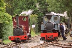 Irish Mail and Joffre (Mike 1501) Tags: ex dinorwic quarry hunslet works no 823 irish mail kerr stuart french allied government railways 060 twt joffre west lancashire light railway