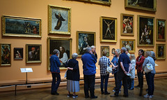 A Guided Tour (MMiPhoto) Tags: bowes museum gallery picture art fuji xt3 1024
