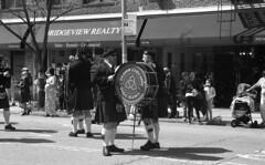 Bay Ridge St. Patrick's Day Parade (neilsonabeel) Tags: nikonn90s nikon nikkor film analogue blackandwhite bayridge parade brooklyn newyorkcity