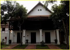 Luang Prabang Victoria Xiengthong 20190514_062203 DSCN5714 (CanadaGood) Tags: color colour building asia seasia laos asean luangprabang 2019 canadagood ເມືອງລາວ thisdecade tree architecture hotel palace