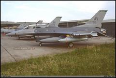 F16 D AV 90-0795 31TFW 555TFS Nancy juin 1998 (paulschaller67) Tags: f16 d av 900795 31tfw 555tfs nancy juin 1998