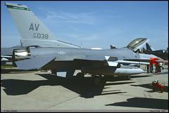 F16 C AV 89-2038 31TFW 555TFS Nancy juin 1998 (paulschaller67) Tags: f16 c av 892038 31tfw 555tfs nancy juin 1998