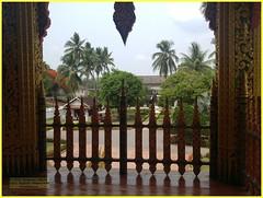 Luang Prabang Haw Phra Bang 20190512_103519 LG (CanadaGood) Tags: asia seasia asean laos ເມືອງລາວ luangprabang building temple buddhist tree palace palmtree canadagood 2019 thisdecade color colour cameraphone