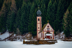 Santa Maddalena (Emi Dragoi) Tags: church santa maddalena funes south tyrol italy italia snow