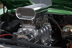 Under And Through The Hood (Scott 97006) Tags: engine hotrod muscle powerful crome