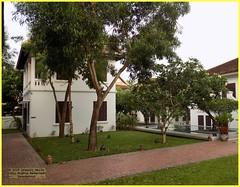Luang Prabang Victoria Xiengthong 20190514_062143 DSCN5713 (CanadaGood) Tags: color colour building asia seasia laos asean luangprabang 2019 canadagood ເມືອງລາວ thisdecade tree architecture hotel palace