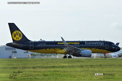 Eurowings BVB Livery Airbus A320 D-AIRZ London Stansted AIrport (bananamanuk79) Tags: planewatch pictures aviation airplane airport london flying flight runway air travel transport pilot avgeek airways takeoff departure flyer vehicle outdoor airliner jet jetliner flyers travelling jumbo logo livery painted airplanes aicraft photos airline airliners airlines stansted worldwide spotter planespotting landing eurowings logojet bvb bvblivery daizr