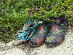 20190810 Garden Shoes (Dolores.G) Tags: smileonsaturday shoeshow 365the2019edition 3652019 day222365 10aug19