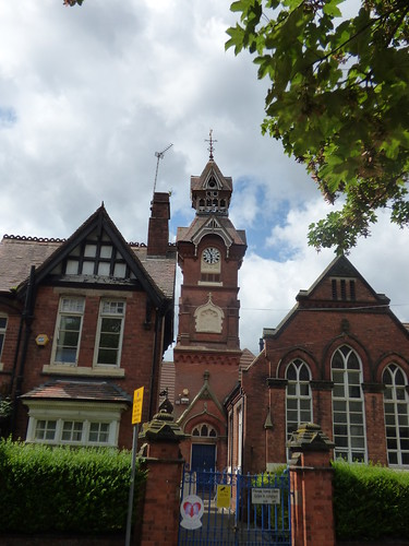 King George V Primary School - Beeches Road, West Bromwich - clock tower