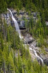 Bridal Veil Falls - Banff National Park, AB (achinthaMB) Tags: bridalveilfalls alberta banffnationalpark icefieldparkway highway93 canada waterfall rockies canadianrockies jasper