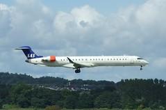 EI-FPO (Gary Kenney Aviation) Tags: canadair crj900 eifpo sas scandinavian edinburgh airport airplane